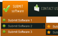 templates menu gratuit Javascript Drop Down Menu Download