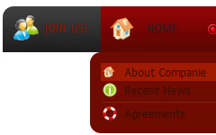 collapsible flash menu Css Dropdown Menubar For Aspnet