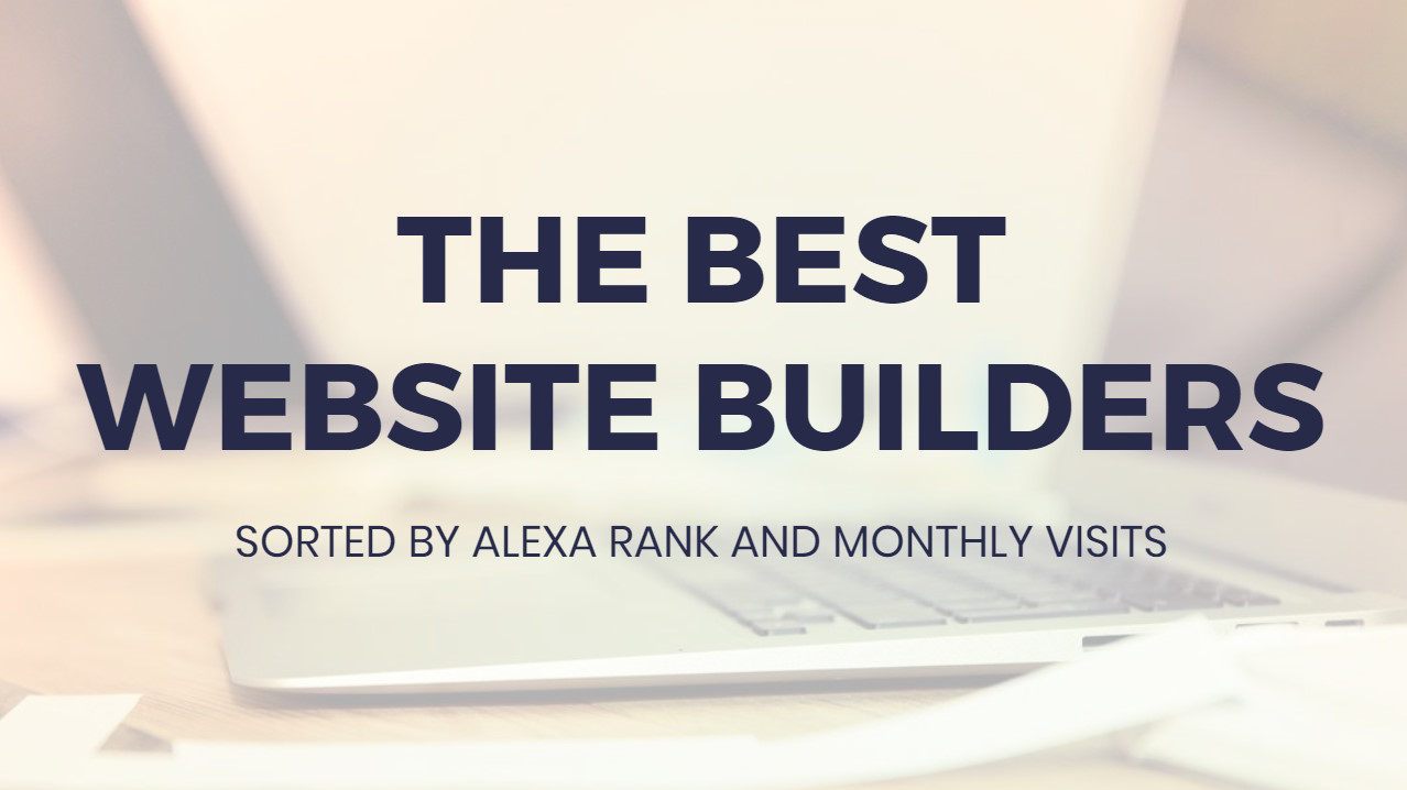 Most suitable  Internet Site Builders