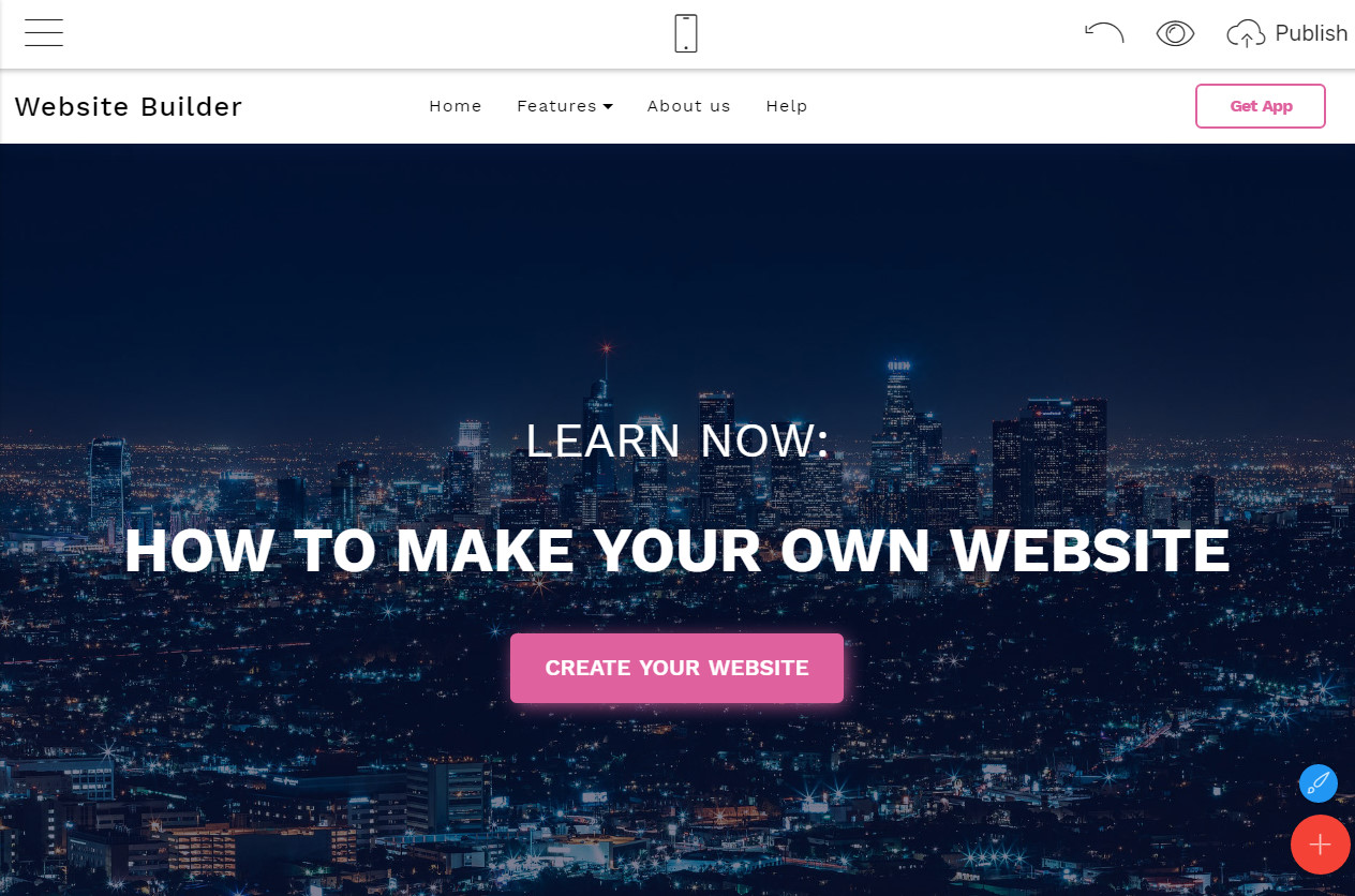 how to make a good website homepage