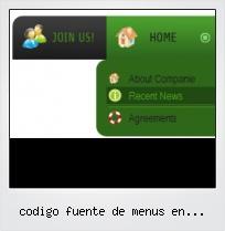 Codigo Fuente De Menus En Javascript
