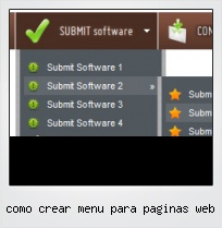 Como Crear Menu Para Paginas Web
