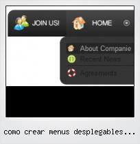Como Crear Menus Desplegables Para Web