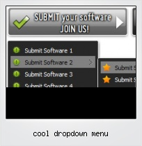 Cool Dropdown Menu