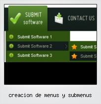 Creacion De Menus Y Submenus