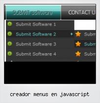 Creador Menus En Javascript