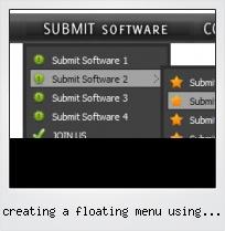 Creating A Floating Menu Using Javascripts