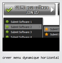 Creer Menu Dynamique Horizontal