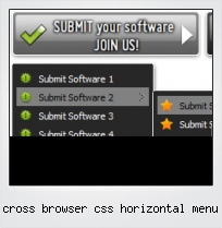 Cross Browser Css Horizontal Menu