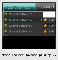 Cross Browser Javascript Drop Down Menu