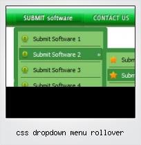Css Dropdown Menu Rollover