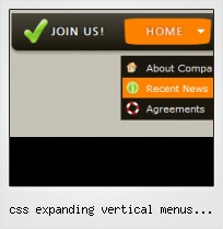 Css Expanding Vertical Menus Samples