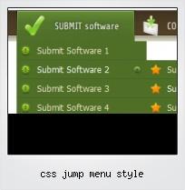 Css Jump Menu Style