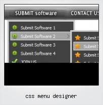 Css Menu Designer