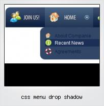 Css Menu Drop Shadow