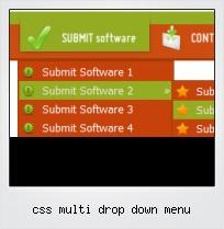 Css Multi Drop Down Menu