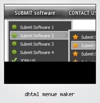 Dhtml Menue Maker