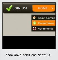 Drop Down Menu Css Vertikal