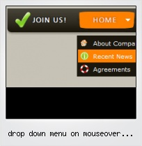 Drop Down Menu On Mouseover Javascript