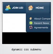 Dynamic Css Submenu