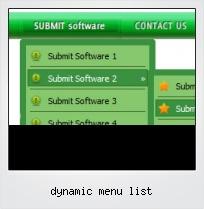 Dynamic Menu List