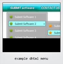 Example Dhtml Menu
