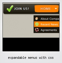 Expandable Menus With Css