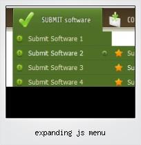 Expanding Js Menu