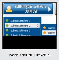 Hacer Menu En Fireworks