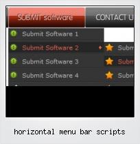 Horizontal Menu Bar Scripts