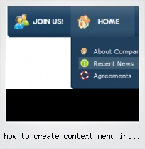 How To Create Context Menu In Javascript