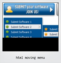Html Moving Menu