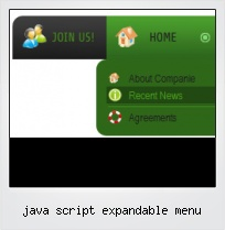 Java Script Expandable Menu