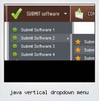 Java Vertical Dropdown Menu