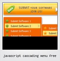 Javascript Cascading Menu Free