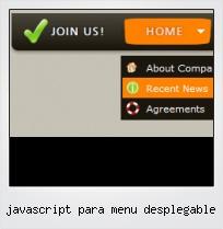 Javascript Para Menu Desplegable
