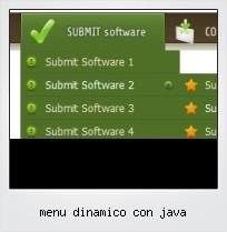 Menu Dinamico Con Java