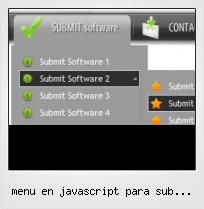 Menu En Javascript Para Sub Secciones