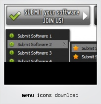 Menu Icons Download