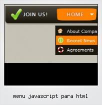 Menu Javascript Para Html