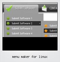Menu Maker For Linux