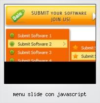 Menu Slide Con Javascript