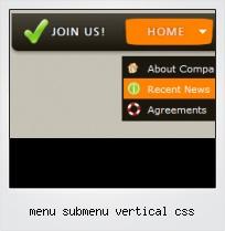 Menu Submenu Vertical Css