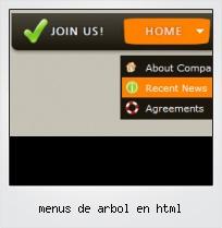 Menus De Arbol En Html