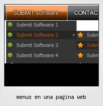 Menus En Una Pagina Web