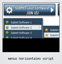 Menus Horizontales Script
