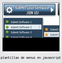 Plantillas De Menus En Javascript