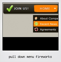 Pull Down Menu Fireworks