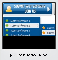 Pull Down Menus In Css