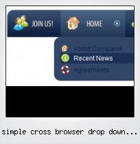 Simple Cross Browser Drop Down Menu